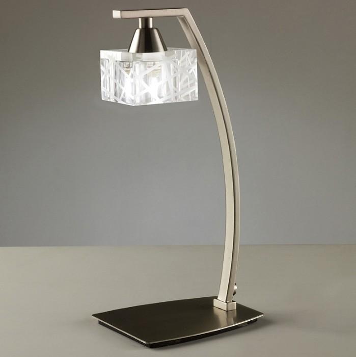Фото Настольная лампа Mantra G9 220В 40Вт 2800-3200 K Zen Satin Nickel 1447
