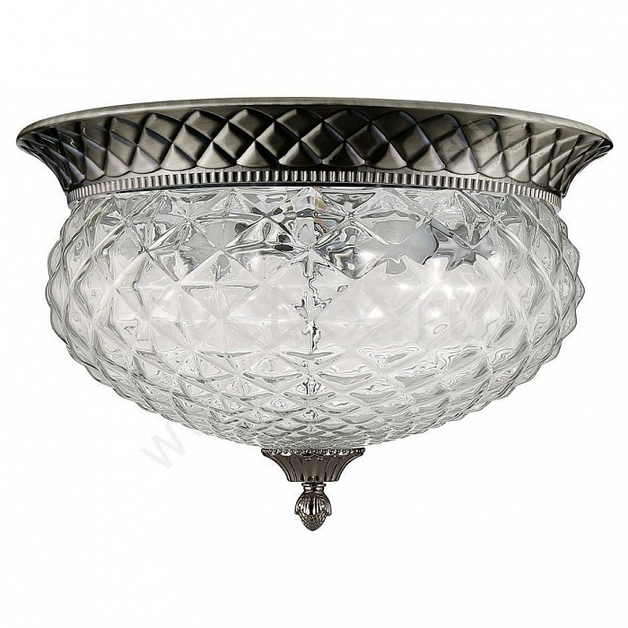 Накладной светильник Crystal LuxКруглые<br>Артикул - CU_2003_104,Бренд - Crystal Lux (Испания),Коллекция - Hola,Гарантия, месяцы - 24,Высота, мм - 300,Диаметр, мм - 440,Тип лампы - компактная люминесцентная [КЛЛ] ИЛИнакаливания ИЛИсветодиодная [LED],Общее кол-во ламп - 4,Напряжение питания лампы, В - 220,Максимальная мощность лампы, Вт - 60,Лампы в комплекте - отсутствуют,Цвет плафонов и подвесок - неокрашенный,Тип поверхности плафонов - прозрачный, рельефный,Материал плафонов и подвесок - стекло,Цвет арматуры - бронза античная,Тип поверхности арматуры - матовый, рельефный,Материал арматуры - металл,Количество плафонов - 1,Возможность подлючения диммера - можно, если установить лампу накаливания,Тип цоколя лампы - E14,Класс электробезопасности - I,Общая мощность, Вт - 240,Степень пылевлагозащиты, IP - 20,Диапазон рабочих температур - комнатная температура,Дополнительные параметры - способ крепления светильника к потолку – на монтажной пластине<br>