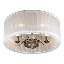 Накладной светильник Odeon LightКруглые<br>Артикул - OD_2770_5C,Бренд - Odeon Light (Италия),Коллекция - Nesta,Гарантия, месяцы - 24,Высота, мм - 390,Диаметр, мм - 550,Тип лампы - компактная люминесцентная [КЛЛ] ИЛИнакаливания ИЛИсветодиодная [LED],Общее кол-во ламп - 5,Напряжение питания лампы, В - 220,Максимальная мощность лампы, Вт - 40,Лампы в комплекте - отсутствуют,Цвет плафонов и подвесок - белый,Тип поверхности плафонов - прозрачный,Материал плафонов и подвесок - текстиль,Цвет арматуры - бронза,Тип поверхности арматуры - глянцевый,Материал арматуры - металл, полимер,Возможность подлючения диммера - можно, если установить лампу накаливания,Тип цоколя лампы - E14,Класс электробезопасности - I,Общая мощность, Вт - 200,Степень пылевлагозащиты, IP - 20,Диапазон рабочих температур - комнатная температура<br>