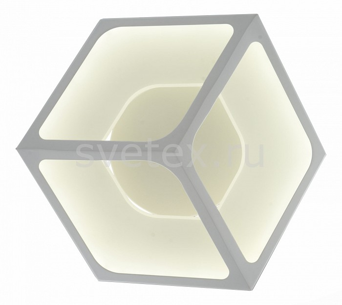 Накладной светильник ST-LuceСветодиодные<br>Артикул - SL952.501.01,Бренд - ST-Luce (Китай),Коллекция - SL952,Гарантия, месяцы - 24,Время изготовления, дней - 1,Ширина, мм - 350,Высота, мм - 400,Выступ, мм - 140,Размер упаковки, мм - 450х450х180,Тип лампы - светодиодная [LED],Общее кол-во ламп - 1,Напряжение питания лампы, В - 220,Максимальная мощность лампы, Вт - 28,Цвет лампы - белый,Лампы в комплекте - светодиодная [LED],Цвет плафонов и подвесок - белый,Тип поверхности плафонов - матовый,Материал плафонов и подвесок - акрил,Цвет арматуры - белый,Тип поверхности арматуры - матовый,Материал арматуры - металл,Количество плафонов - 1,Возможность подлючения диммера - нельзя,Цветовая температура, K - 4000 K,Световой поток, лм - 4550,Экономичнее лампы накаливания - в 10 раз,Светоотдача, лм/Вт - 163,Класс электробезопасности - I,Степень пылевлагозащиты, IP - 20,Диапазон рабочих температур - комнатная температура,Дополнительные параметры - светильник предназначен для использования со скрытой проводкой<br>