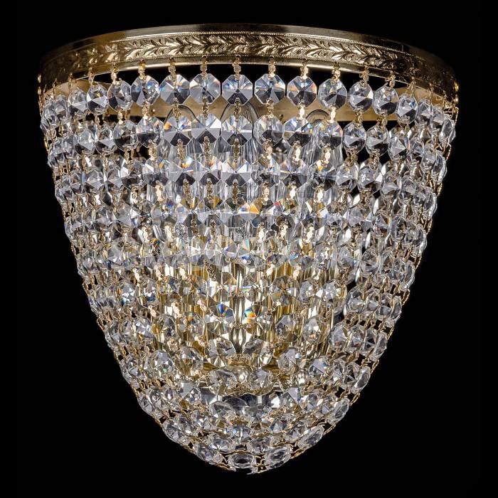 Фото Накладной светильник Bohemia Ivele Crystal 1925 1925/3/S/G