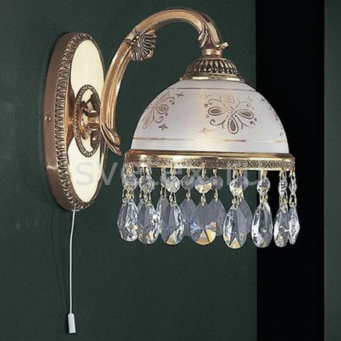Бра Reccagni AngeloНастенные светильники<br>Артикул - RA_A_6100_1,Бренд - Reccagni Angelo (Италия),Коллекция - 6100,Гарантия, месяцы - 24,Высота, мм - 210,Выступ, мм - 250,Тип лампы - компактная люминесцентная [КЛЛ] ИЛИнакаливания ИЛИсветодиодная [LED],Общее кол-во ламп - 1,Напряжение питания лампы, В - 220,Максимальная мощность лампы, Вт - 60,Лампы в комплекте - отсутствуют,Цвет плафонов и подвесок - белый с рисунком, неокрашенный,Тип поверхности плафонов - матовый, прозрачный,Материал плафонов и подвесок - стекло, хрусталь,Цвет арматуры - золото французское,Тип поверхности арматуры - глянцевый, рельефный,Материал арматуры - латунь,Количество плафонов - 1,Наличие выключателя, диммера или пульта ДУ - выключатель шнуровой,Возможность подлючения диммера - можно, если установить лампу накаливания,Тип цоколя лампы - E27,Класс электробезопасности - I,Степень пылевлагозащиты, IP - 20,Диапазон рабочих температур - комнатная температура,Дополнительные параметры - способ крепления светильника на стене – на монтажной пластине, светильник предназначен для использования со скрытой проводкой<br>