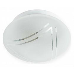 Накладной светильник TopLightКруглые<br>Артикул - TPL_TL9450Y-01WH,Бренд - TopLight (Россия),Коллекция - Mirafo,Гарантия, месяцы - 24,Диаметр, мм - 220,Размер упаковки, мм - 260x125x260,Тип лампы - компактная люминесцентная [КЛЛ] ИЛИнакаливания ИЛИсветодиодная [LED],Общее кол-во ламп - 1,Напряжение питания лампы, В - 220,Максимальная мощность лампы, Вт - 60,Лампы в комплекте - отсутствуют,Цвет плафонов и подвесок - белый с рисунком,Тип поверхности плафонов - матовый,Материал плафонов и подвесок - стекло,Цвет арматуры - белый,Тип поверхности арматуры - матовый,Материал арматуры - металл,Возможность подлючения диммера - можно, если установить лампу накаливания,Тип цоколя лампы - E27,Класс электробезопасности - I,Степень пылевлагозащиты, IP - 20,Диапазон рабочих температур - комнатная температура,Дополнительные параметры - способ крепления светильника к потолку и к стене - на монтажной пластине<br>