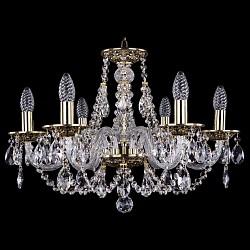 Подвесная люстра Bohemia Ivele Crystal5 или 6 ламп<br>Артикул - BI_1606_6_195_GB,Бренд - Bohemia Ivele Crystal (Чехия),Коллекция - 1606,Гарантия, месяцы - 24,Высота, мм - 390,Диаметр, мм - 570,Размер упаковки, мм - 450x450x200,Тип лампы - компактная люминесцентная [КЛЛ] ИЛИнакаливания ИЛИсветодиодная [LED],Общее кол-во ламп - 6,Напряжение питания лампы, В - 220,Максимальная мощность лампы, Вт - 40,Лампы в комплекте - отсутствуют,Цвет плафонов и подвесок - неокрашенный,Тип поверхности плафонов - прозрачный,Материал плафонов и подвесок - хрусталь,Цвет арматуры - золото черненое, неокрашенный,Тип поверхности арматуры - глянцевый, прозрачный, рельефный,Материал арматуры - латунь, стекло,Возможность подлючения диммера - можно, если установить лампу накаливания,Форма и тип колбы - свеча ИЛИ свеча на ветру,Тип цоколя лампы - E14,Класс электробезопасности - I,Общая мощность, Вт - 240,Степень пылевлагозащиты, IP - 20,Диапазон рабочих температур - комнатная температура,Дополнительные параметры - способ крепления светильника к потолку - на крюке, указана высота светильника без подвеса<br>