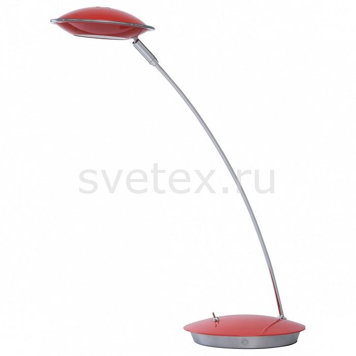 Настольная лампа офисная MW-LightСветильники<br>Артикул - MW_632033001,Бренд - MW-Light (Германия),Коллекция - Гэлэкси 12,Гарантия, месяцы - 24,Ширина, мм - 160,Высота, мм - 470,Выступ, мм - 360,Диаметр, мм - 160,Тип лампы - светодиодная [LED],Общее кол-во ламп - 1,Максимальная мощность лампы, Вт - 5,Цвет лампы - белый теплый,Лампы в комплекте - светодиодная [LED],Цвет плафонов и подвесок - красный, неокрашенный,Тип поверхности плафонов - глянцевый, прозрачный,Материал плафонов и подвесок - акрил, металл,Цвет арматуры - красный, хром,Тип поверхности арматуры - глянцевый,Материал арматуры - металл,Количество плафонов - 1,Наличие выключателя, диммера или пульта ДУ - выключатель,Компоненты, входящие в комплект - провод электропитания с вилкой без заземления,Цветовая температура, K - 3000 K,Световой поток, лм - 400,Экономичнее лампы накаливания - в 8.4 раза,Светоотдача, лм/Вт - 80,Класс электробезопасности - II,Напряжение питания, В - 220,Степень пылевлагозащиты, IP - 20,Диапазон рабочих температур - комнатная температура,Дополнительные параметры - поворотный светильник<br>