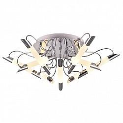 Потолочная люстра IDLampПолимерные плафоны<br>Артикул - ID_401_9PF-LEDChrome,Бренд - IDLamp (Италия),Коллекция - 401,Гарантия, месяцы - 24,Высота, мм - 270,Диаметр, мм - 840,Тип лампы - светодиодная [LED],Общее кол-во ламп - 9,Напряжение питания лампы, В - 220,Максимальная мощность лампы, Вт - 6,Лампы в комплекте - светодиодные [LED],Цвет плафонов и подвесок - белый,Тип поверхности плафонов - матовый,Материал плафонов и подвесок - акрил,Цвет арматуры - хром,Тип поверхности арматуры - глянцевый,Материал арматуры - металл,Возможность подлючения диммера - нельзя,Класс электробезопасности - I,Общая мощность, Вт - 54,Степень пылевлагозащиты, IP - 20,Диапазон рабочих температур - комнатная температура<br>