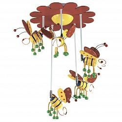 Накладной светильник Odeon LightСветодиодные<br>Артикул - OD_2804_5C,Бренд - Odeon Light (Италия),Коллекция - Ape,Гарантия, месяцы - 24,Высота, мм - 650,Диаметр, мм - 500,Тип лампы - компактная люминесцентная [КЛЛ] ИЛИнакаливания ИЛИсветодиодная [LED],Общее кол-во ламп - 5,Напряжение питания лампы, В - 220,Максимальная мощность лампы, Вт - 40,Лампы в комплекте - отсутствуют,Цвет арматуры - желтый, зеленый, красный,Тип поверхности арматуры - глянцевый,Материал арматуры - дерево, металл,Возможность подлючения диммера - можно, если установить лампу накаливания,Тип цоколя лампы - E14,Класс электробезопасности - I,Общая мощность, Вт - 200,Степень пылевлагозащиты, IP - 20,Диапазон рабочих температур - комнатная температура,Дополнительные параметры - поворотный светильник<br>