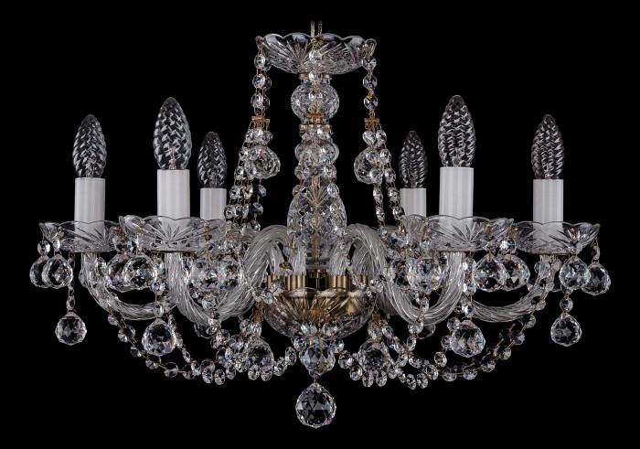 Фото Подвесная люстра Bohemia Ivele Crystal 1406 1406/6/195/Pa/Balls