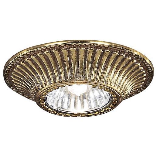 Встраиваемый светильник Reccagni AngeloПотолочные светильники<br>Артикул - RA_SPOT_1078_ORO,Бренд - Reccagni Angelo (Италия),Коллекция - 1078,Гарантия, месяцы - 24,Высота, мм - 50,Выступ, мм - 20,Глубина, мм - 30,Диаметр, мм - 100,Тип лампы - галогеновая ИЛИсветодиодная [LED],Общее кол-во ламп - 1,Напряжение питания лампы, В - 220,Максимальная мощность лампы, Вт - 50,Лампы в комплекте - отсутствуют,Цвет арматуры - золото французское,Тип поверхности арматуры - глянцевый, рельефный,Материал арматуры - латунь,Возможность подлючения диммера - можно, если установить галогеновую лампу,Форма и тип колбы - полусферическая с рефлектором,Тип цоколя лампы - GU10,Класс электробезопасности - I,Степень пылевлагозащиты, IP - 20,Диапазон рабочих температур - комнатная температура<br>