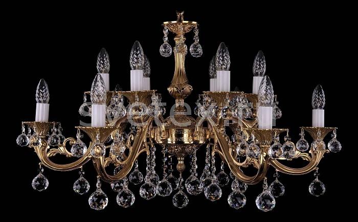 Фото Подвесная люстра Bohemia Ivele Crystal 1703 1703/12/A/G/Balls