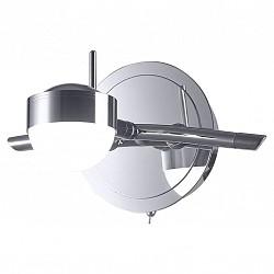 Бра IDLampС 1 лампой<br>Артикул - ID_348_1A-Chrome,Бренд - IDLamp (Италия),Коллекция - 348,Высота, мм - 130,Тип лампы - светодиодная [LED],Общее кол-во ламп - 1,Напряжение питания лампы, В - 220,Максимальная мощность лампы, Вт - 5,Лампы в комплекте - светодиодная [LED],Цвет плафонов и подвесок - белый,Тип поверхности плафонов - матовый,Материал плафонов и подвесок - стекло,Цвет арматуры - хром,Тип поверхности арматуры - глянцевый,Материал арматуры - металл,Возможность подлючения диммера - нельзя,Класс электробезопасности - I,Степень пылевлагозащиты, IP - 20,Диапазон рабочих температур - комнатная температура,Дополнительные параметры - поворотный светильник, светильник предназначен для использования со скрытой проводкой, способ крепления светильника к стене – на монтажной пластине<br>