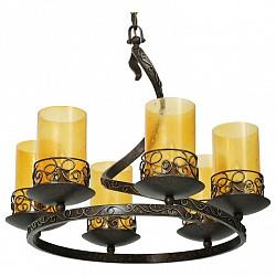 Подвесная люстра Chiaro5 или 6 ламп<br>Артикул - CH_445010106,Бренд - Chiaro (Германия),Коллекция - Ирида,Гарантия, месяцы - 24,Высота, мм - 1840,Диаметр, мм - 710,Размер упаковки, мм - 800x800x680,Тип лампы - компактная люминесцентная [КЛЛ] ИЛИнакаливания ИЛИсветодиодная [LED],Общее кол-во ламп - 6,Напряжение питания лампы, В - 220,Максимальная мощность лампы, Вт - 60,Лампы в комплекте - отсутствуют,Цвет плафонов и подвесок - желтый,Тип поверхности плафонов - прозрачный,Материал плафонов и подвесок - стекло,Цвет арматуры - бронза,Тип поверхности арматуры - матовый, рельефный,Материал арматуры - металл,Возможность подлючения диммера - можно, если установить лампу накаливания,Тип цоколя лампы - E27,Класс электробезопасности - I,Общая мощность, Вт - 360,Степень пылевлагозащиты, IP - 20,Диапазон рабочих температур - комнатная температура,Дополнительные параметры - кованое металлическое основание ручной работы, плафоны из стекла с эффектом капель дождя<br>