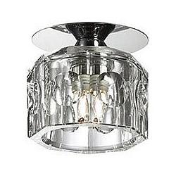 Встраиваемый светильник NovotechКруглые<br>Артикул - NV_369516,Бренд - Novotech (Венгрия),Коллекция - Vetro,Гарантия, месяцы - 24,Время изготовления, дней - 1,Диаметр, мм - 80,Тип лампы - галогеновая ИЛИсветодиодная [LED],Общее кол-во ламп - 1,Напряжение питания лампы, В - 220,Максимальная мощность лампы, Вт - 40,Лампы в комплекте - отсутствуют,Цвет плафонов и подвесок - неокрашенный,Тип поверхности плафонов - прозрачный, рельефный,Материал плафонов и подвесок - оптическое стекло,Цвет арматуры - хром,Тип поверхности арматуры - глянцевый,Материал арматуры - металл,Возможность подлючения диммера - можно, если установить галогеновую лампу,Форма и тип колбы - пальчиковая,Тип цоколя лампы - G9,Класс электробезопасности - I,Степень пылевлагозащиты, IP - 20,Диапазон рабочих температур - комнатная температура<br>