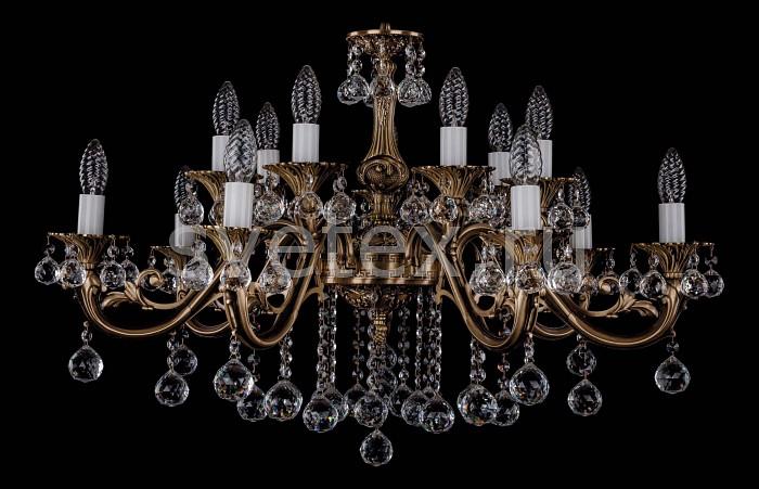 Фото Подвесная люстра Bohemia Ivele Crystal 1703 1703/14/B/FP/Balls