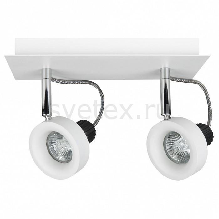 Спот LightstarСпоты<br>Артикул - LS_210126,Бренд - Lightstar (Италия),Коллекция - Varieta,Гарантия, месяцы - 24,Длина, мм - 250,Ширина, мм - 100,Выступ, мм - 170,Тип лампы - галогеновая ИЛИсветодиодная [LED],Общее кол-во ламп - 2,Напряжение питания лампы, В - 12,Максимальная мощность лампы, Вт - 50,Лампы в комплекте - отсутствуют,Цвет плафонов и подвесок - белый,Тип поверхности плафонов - матовый,Материал плафонов и подвесок - металл,Цвет арматуры - белый, хром,Тип поверхности арматуры - глянцевый, матовый,Материал арматуры - металл,Количество плафонов - 2,Компоненты, входящие в комплект - трансформатор 12В,Форма и тип колбы - полусферическая с рефлектором,Тип цоколя лампы - GU10,Класс электробезопасности - I,Напряжение питания, В - 220,Общая мощность, Вт - 100,Степень пылевлагозащиты, IP - 20,Диапазон рабочих температур - комнатная температура,Дополнительные параметры - поворотный светильник<br>