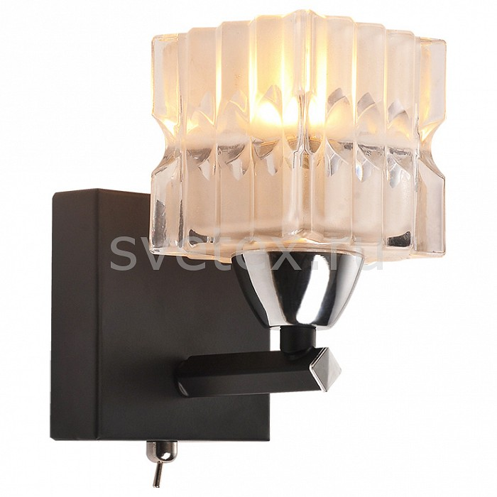 Фото Бра IDLamp 205 205/1A-Blackchrome