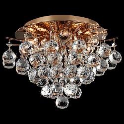 Потолочная люстра Eurosvet5 или 6 ламп<br>Артикул - EV_73848,Бренд - Eurosvet (Китай),Коллекция - 10020,Гарантия, месяцы - 24,Высота, мм - 260,Диаметр, мм - 365,Тип лампы - компактная люминесцентная [КЛЛ] ИЛИнакаливания ИЛИсветодиодная [LED],Общее кол-во ламп - 6,Напряжение питания лампы, В - 220,Максимальная мощность лампы, Вт - 60,Лампы в комплекте - отсутствуют,Цвет плафонов и подвесок - неокрашенный,Тип поверхности плафонов - прозрачный,Материал плафонов и подвесок - хрусталь,Цвет арматуры - золото,Тип поверхности арматуры - глянцевый,Материал арматуры - металл,Возможность подлючения диммера - можно, если установить лампу накаливания,Тип цоколя лампы - E27,Класс электробезопасности - I,Общая мощность, Вт - 360,Степень пылевлагозащиты, IP - 20,Диапазон рабочих температур - комнатная температура,Дополнительные параметры - способ крепления светильника к потолку - на монтажной пластине<br>