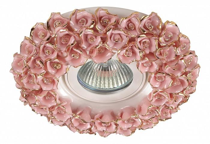 Встраиваемый светильник NovotechВстраиваемые светильники<br>Артикул - NV_370044,Бренд - Novotech (Венгрия),Коллекция - Farfor,Гарантия, месяцы - 24,Время изготовления, дней - 1,Глубина, мм - 20,Диаметр, мм - 140,Размер врезного отверстия, мм - 70,Тип лампы - галогеновая ИЛИсветодиодная [LED],Общее кол-во ламп - 1,Напряжение питания лампы, В - 12,Максимальная мощность лампы, Вт - 50,Лампы в комплекте - отсутствуют,Цвет арматуры - золото, розовый,Тип поверхности арматуры - глянцевый, рельефный,Материал арматуры - фарфор,Необходимые компоненты - трансформатор 12В,Компоненты, входящие в комплект - нет,Форма и тип колбы - полусферическая с рефлектором,Тип цоколя лампы - GX5.3,Класс электробезопасности - III,Напряжение питания, В - 220,Степень пылевлагозащиты, IP - 20,Диапазон рабочих температур - комнатная температура,Дополнительные параметры - ручная роспись, золотое декоративное покрытие, 17% натурального золота в составе покрытия<br>