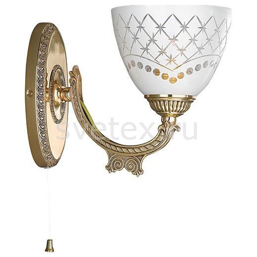 Бра Reccagni AngeloНастенные светильники<br>Артикул - RA_A_7152_1,Бренд - Reccagni Angelo (Италия),Коллекция - 7152,Гарантия, месяцы - 24,Ширина, мм - 200,Высота, мм - 180,Выступ, мм - 240,Тип лампы - компактная люминесцентная [КЛЛ] ИЛИнакаливания ИЛИсветодиодная [LED],Общее кол-во ламп - 1,Напряжение питания лампы, В - 220,Максимальная мощность лампы, Вт - 60,Лампы в комплекте - отсутствуют,Цвет плафонов и подвесок - белый с рисунком,Тип поверхности плафонов - матовый,Материал плафонов и подвесок - стекло,Цвет арматуры - золото французское,Тип поверхности арматуры - глянцевый, рельефный,Материал арматуры - латунь,Количество плафонов - 1,Наличие выключателя, диммера или пульта ДУ - выключатель шнуровой,Возможность подлючения диммера - можно, если установить лампу накаливания,Тип цоколя лампы - E27,Класс электробезопасности - I,Степень пылевлагозащиты, IP - 20,Диапазон рабочих температур - комнатная температура,Дополнительные параметры - способ крепления светильника на стене – на монтажной пластине, светильник предназначен для использования со скрытой проводкой<br>