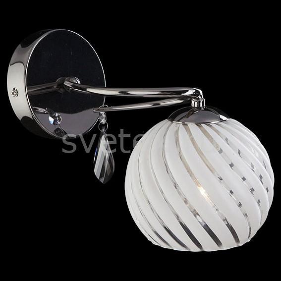 Бра EurosvetХРУСТАЛЬНЫЕ светильники<br>Артикул - EV_7356,Бренд - Eurosvet (Китай),Коллекция - 7769,Гарантия, месяцы - 24,Ширина, мм - 130,Высота, мм - 240,Выступ, мм - 200,Тип лампы - компактная люминесцентная [КЛЛ] ИЛИнакаливания ИЛИсветодиодная [LED],Общее кол-во ламп - 1,Напряжение питания лампы, В - 220,Максимальная мощность лампы, Вт - 60,Лампы в комплекте - отсутствуют,Цвет плафонов и подвесок - белый полосатый, дымчатый,Тип поверхности плафонов - матовый, прозрачный,Материал плафонов и подвесок - стекло, хрусталь,Цвет арматуры - черный жемчуг,Тип поверхности арматуры - глянцевый,Материал арматуры - металл,Количество плафонов - 1,Тип цоколя лампы - E27,Класс электробезопасности - I,Степень пылевлагозащиты, IP - 20,Диапазон рабочих температур - комнатная температура,Дополнительные параметры - светильник предназначен для использования со скрытой проводкой<br>
