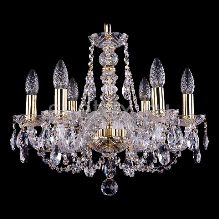 Фото Подвесная люстра Bohemia Ivele Crystal 1406 1406/6/160/G