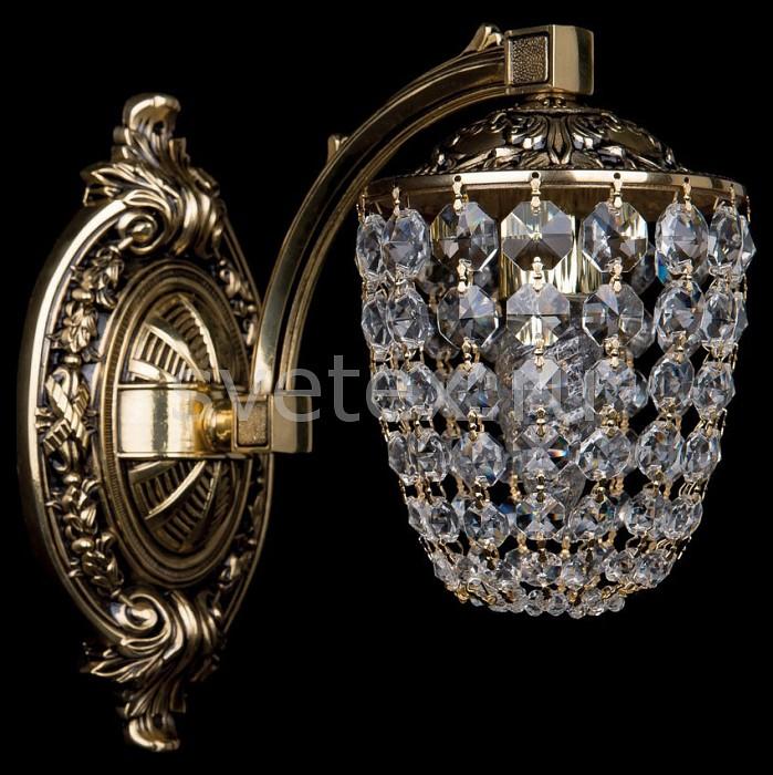 Бра Bohemia Ivele CrystalС 1 лампой<br>Артикул - BI_1772_1_150_GB,Бренд - Bohemia Ivele Crystal (Чехия),Коллекция - 1772,Гарантия, месяцы - 24,Ширина, мм - 130,Высота, мм - 240,Выступ, мм - 240,Размер упаковки, мм - 250x250x200,Тип лампы - компактная люминесцентная [КЛЛ] ИЛИнакаливания ИЛИсветодиодная [LED],Общее кол-во ламп - 1,Напряжение питания лампы, В - 220,Максимальная мощность лампы, Вт - 40,Лампы в комплекте - отсутствуют,Цвет плафонов и подвесок - неокрашенный,Тип поверхности плафонов - прозрачный,Материал плафонов и подвесок - хрусталь,Цвет арматуры - золото черненое,Тип поверхности арматуры - глянцевый, рельефный,Материал арматуры - латунь,Возможность подлючения диммера - можно, если установить лампу накаливания,Тип цоколя лампы - E14,Класс электробезопасности - I,Степень пылевлагозащиты, IP - 20,Диапазон рабочих температур - комнатная температура,Дополнительные параметры - способ крепления светильника на стене – на монтажной пластине, светильник предназначен для использования со скрытой проводкой<br>
