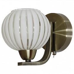 Бра IDLampС 1 лампой<br>Артикул - ID_863_1A-oldbronze,Бренд - IDLamp (Италия),Коллекция - 863,Гарантия, месяцы - 24,Высота, мм - 160,Тип лампы - компактная люминесцентная [КЛЛ] ИЛИнакаливания ИЛИсветодиодная [LED],Общее кол-во ламп - 1,Напряжение питания лампы, В - 220,Максимальная мощность лампы, Вт - 60,Лампы в комплекте - отсутствуют,Цвет плафонов и подвесок - белый,Тип поверхности плафонов - глянцевый,Материал плафонов и подвесок - стекло,Цвет арматуры - старая бронза,Тип поверхности арматуры - глянцевый,Материал арматуры - металл,Возможность подлючения диммера - можно, если установить лампу накаливания,Тип цоколя лампы - E14,Класс электробезопасности - I,Степень пылевлагозащиты, IP - 20,Диапазон рабочих температур - комнатная температура<br>