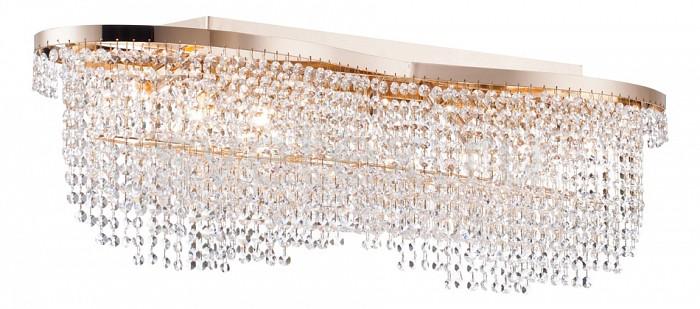 Накладной светильник MaytoniНакладные светильники<br>Артикул - MY_DIA601-07-G,Бренд - Maytoni (Германия),Коллекция - Toils,Гарантия, месяцы - 24,Длина, мм - 933,Ширина, мм - 240,Высота, мм - 305,Тип лампы - компактная люминесцентная [КЛЛ] ИЛИнакаливания ИЛИсветодиодная [LED],Общее кол-во ламп - 7,Напряжение питания лампы, В - 220,Максимальная мощность лампы, Вт - 60,Лампы в комплекте - отсутствуют,Цвет плафонов и подвесок - неокрашенный,Тип поверхности плафонов - прозрачный,Материал плафонов и подвесок - хрусталь,Цвет арматуры - золото,Тип поверхности арматуры - глянцевый,Материал арматуры - металл,Возможность подлючения диммера - можно, если установить лампу накаливания,Тип цоколя лампы - E14,Класс электробезопасности - I,Общая мощность, Вт - 420,Степень пылевлагозащиты, IP - 20,Диапазон рабочих температур - комнатная температура,Дополнительные параметры - способ крепления светильника к потолку - на монтажной пластине<br>