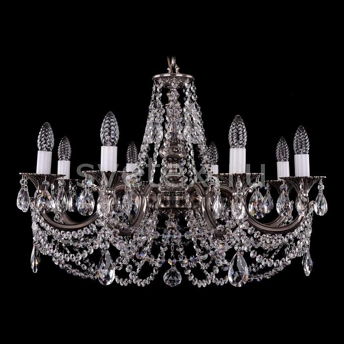 Фото Подвесная люстра Bohemia Ivele Crystal 1702 1702/8/C/NB