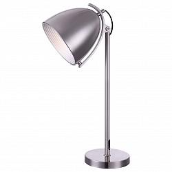 Настольная лампа GloboМеталлический плафон<br>Артикул - GB_15130T,Бренд - Globo (Австрия),Коллекция - Jackson,Гарантия, месяцы - 24,Высота, мм - 700,Размер упаковки, мм - 225x225x500,Тип лампы - компактная люминесцентная [КЛЛ] ИЛИнакаливания ИЛИсветодиодная [LED],Общее кол-во ламп - 1,Напряжение питания лампы, В - 220,Максимальная мощность лампы, Вт - 60,Лампы в комплекте - отсутствуют,Цвет плафонов и подвесок - никель,Тип поверхности плафонов - сатин,Материал плафонов и подвесок - металл,Цвет арматуры - никель,Тип поверхности арматуры - сатин,Материал арматуры - металл,Тип цоколя лампы - E27,Класс электробезопасности - II,Степень пылевлагозащиты, IP - 20,Диапазон рабочих температур - комнатная температура<br>