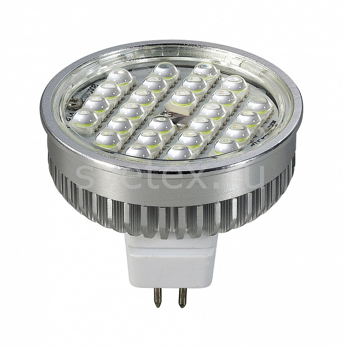 Фото Лампа светодиодная Novotech GX5.3 12В 5Вт 3000 K 357099