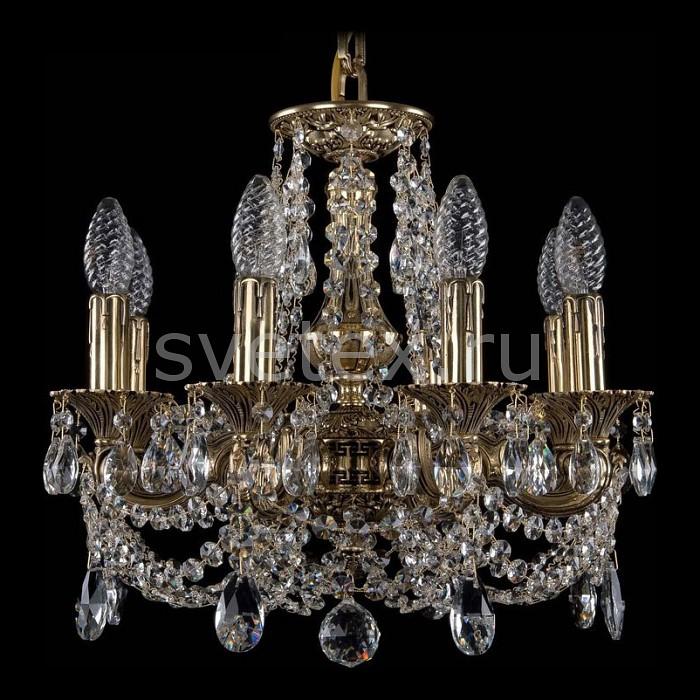 Подвесная люстра Bohemia Ivele CrystalБолее 6 ламп<br>Артикул - BI_1707_8_125_C_GB,Бренд - Bohemia Ivele Crystal (Чехия),Коллекция - 1707,Гарантия, месяцы - 24,Высота, мм - 360,Диаметр, мм - 440,Размер упаковки, мм - 450x450x200,Тип лампы - компактная люминесцентная [КЛЛ] ИЛИнакаливания ИЛИсветодиодная [LED],Общее кол-во ламп - 8,Напряжение питания лампы, В - 220,Максимальная мощность лампы, Вт - 40,Лампы в комплекте - отсутствуют,Цвет плафонов и подвесок - неокрашенный,Тип поверхности плафонов - прозрачный,Материал плафонов и подвесок - хрусталь,Цвет арматуры - золото черненое,Тип поверхности арматуры - глянцевый, рельефный,Материал арматуры - латунь,Возможность подлючения диммера - можно, если установить лампу накаливания,Форма и тип колбы - свеча ИЛИ свеча на ветру,Тип цоколя лампы - E14,Класс электробезопасности - I,Общая мощность, Вт - 320,Степень пылевлагозащиты, IP - 20,Диапазон рабочих температур - комнатная температура,Дополнительные параметры - способ крепления светильника к потолку - на крюке, указана высота светильника без подвеса<br>
