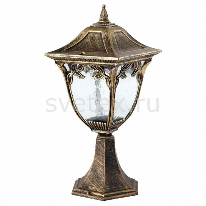 Наземный низкий светильник FeronСветильники<br>Артикул - FE_11485,Бренд - Feron (Китай),Коллекция - Афина,Гарантия, месяцы - 24,Ширина, мм - 180,Высота, мм - 390,Выступ, мм - 180,Тип лампы - компактная люминесцентная [КЛЛ] ИЛИнакаливания ИЛИсветодиодная [LED],Общее кол-во ламп - 1,Напряжение питания лампы, В - 220,Максимальная мощность лампы, Вт - 60,Лампы в комплекте - отсутствуют,Цвет плафонов и подвесок - неокрашенный,Тип поверхности плафонов - прозрачный, рельефный,Материал плафонов и подвесок - стекло,Цвет арматуры - золото черненое,Тип поверхности арматуры - матовый, рельефный,Материал арматуры - силумин,Количество плафонов - 1,Тип цоколя лампы - E27,Класс электробезопасности - I,Степень пылевлагозащиты, IP - 44,Диапазон рабочих температур - от -40^C до +40^C<br>