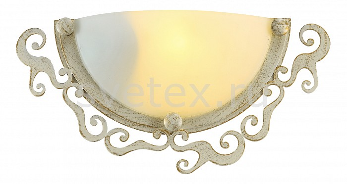 Фото Накладной светильник Arte Lamp Riccioli A1060AP-1WG