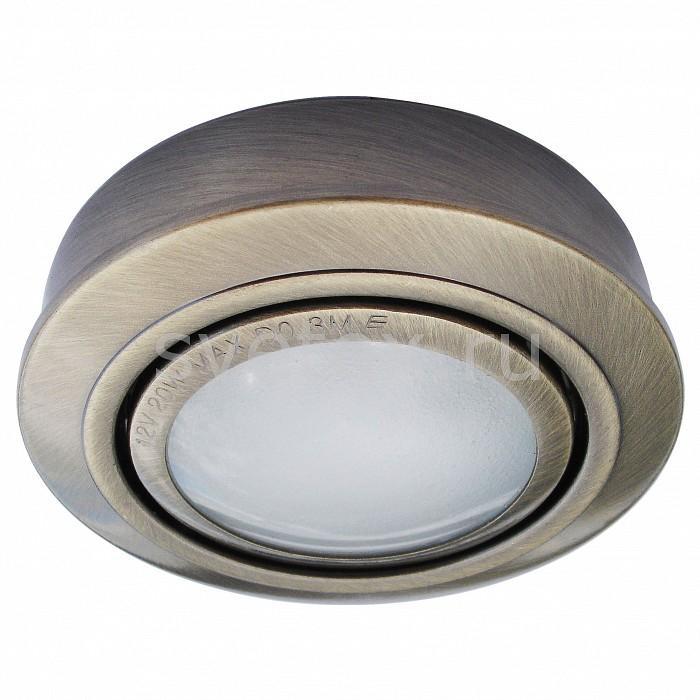Фото Комплект из 3 встраиваемых светильников Arte Lamp Topic A2123PL-3AB
