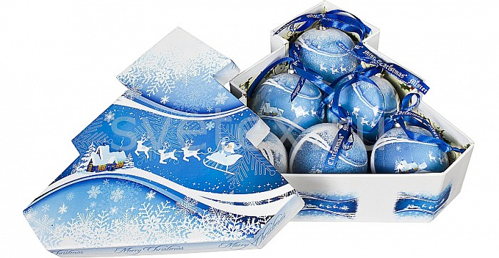 Фото Елочный шар Mister Christmas PM-40