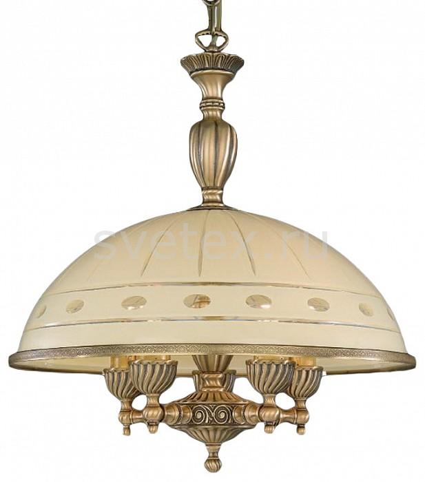 Подвесной светильник Reccagni AngeloСветодиодные<br>Артикул - RA_L_7004_48,Бренд - Reccagni Angelo (Италия),Коллекция - 7004,Гарантия, месяцы - 24,Высота, мм - 560-1660,Диаметр, мм - 480,Тип лампы - компактная люминесцентная [КЛЛ] ИЛИнакаливания ИЛИсветодиодная [LED],Общее кол-во ламп - 5,Напряжение питания лампы, В - 220,Максимальная мощность лампы, Вт - 60,Лампы в комплекте - отсутствуют,Цвет плафонов и подвесок - кремовый с рисунком и каймой,Тип поверхности плафонов - матовый,Материал плафонов и подвесок - стекло,Цвет арматуры - бронза состаренная,Тип поверхности арматуры - матовый, рельефный,Материал арматуры - латунь,Количество плафонов - 1,Возможность подлючения диммера - можно, если установить лампу накаливания,Тип цоколя лампы - E27,Класс электробезопасности - I,Общая мощность, Вт - 300,Степень пылевлагозащиты, IP - 20,Диапазон рабочих температур - комнатная температура,Дополнительные параметры - способ крепления светильника к потолку - на крюке, регулируется по высоте<br>