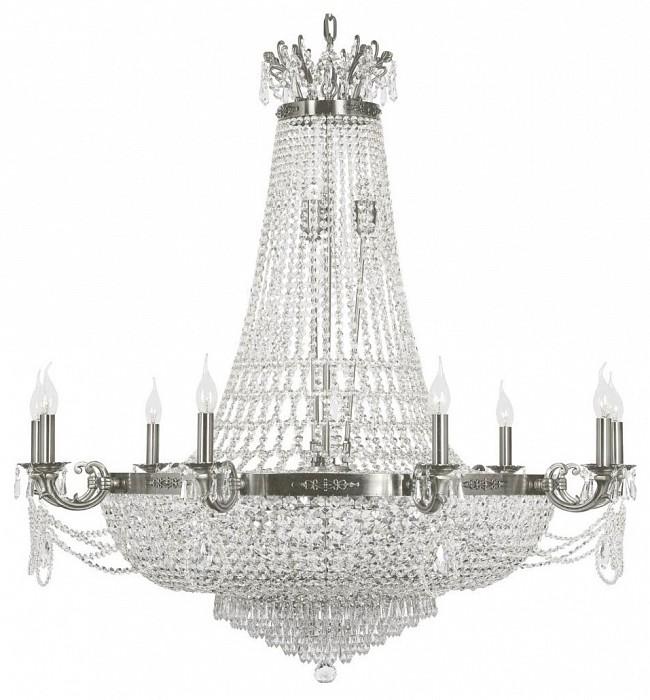 Подвесная люстра Dio D'ArteБолее 6 ламп<br>Артикул - DDA_Lodi_E_1.6.9.200_N,Бренд - Dio D'Arte (Италия),Коллекция - Lodi,Гарантия, месяцы - 24,Высота, мм - 1100,Диаметр, мм - 1000,Тип лампы - компактная люминесцентная [КЛЛ] ИЛИнакаливания ИЛИсветодиодная  [LED],Общее кол-во ламп - 9,Напряжение питания лампы, В - 220,Максимальная мощность лампы, Вт - 40,Лампы в комплекте - отсутствуют,Цвет плафонов и подвесок - неокрашенный,Тип поверхности плафонов - прозрачный,Материал плафонов и подвесок - хрусталь Asfour,Цвет арматуры - никель,Тип поверхности арматуры - матовый,Материал арматуры - металл,Возможность подлючения диммера - можно, если установить лампу накаливания,Форма и тип колбы - свеча ИЛИ свеча на ветру,Тип цоколя лампы - E14,Класс электробезопасности - I,Общая мощность, Вт - 360,Степень пылевлагозащиты, IP - 20,Диапазон рабочих температур - комнатная температура,Дополнительные параметры - способ крепления светильника к потолку - на крюке, указана высота светильника без подвеса<br>