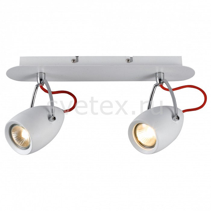 Спот Arte LampСпоты<br>Артикул - AR_A4005AP-2WH,Бренд - Arte Lamp (Италия),Коллекция - Atlantis,Гарантия, месяцы - 24,Длина, мм - 370,Ширина, мм - 90,Выступ, мм - 170,Размер упаковки, мм - 100x370x180,Тип лампы - галогеновая ИЛИсветодиодная [LED],Общее кол-во ламп - 2,Напряжение питания лампы, В - 220,Максимальная мощность лампы, Вт - 50,Лампы в комплекте - отсутствуют,Цвет плафонов и подвесок - белый,Тип поверхности плафонов - глянцевый,Материал плафонов и подвесок - металл,Цвет арматуры - белый,Тип поверхности арматуры - глянцевый,Материал арматуры - металл,Количество плафонов - 2,Возможность подлючения диммера - можно, если установить галогеновую лампу,Форма и тип колбы - полусферическая с рефлектором,Тип цоколя лампы - GU10,Класс электробезопасности - I,Общая мощность, Вт - 100,Степень пылевлагозащиты, IP - 20,Диапазон рабочих температур - комнатная температура,Дополнительные параметры - способ крепления светильника к потолку и стене – на монтажной пластине, поворотный светильник<br>