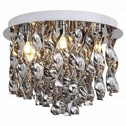 Накладной светильник ST-LuceСветодиодные<br>Артикул - SL448.102.07,Бренд - ST-Luce (Китай),Коллекция - Abilita,Гарантия, месяцы - 24,Высота, мм - 280,Диаметр, мм - 400,Тип лампы - галогеновая ИЛИсветодиодная [LED],Общее кол-во ламп - 7,Напряжение питания лампы, В - 220,Максимальная мощность лампы, Вт - 40,Лампы в комплекте - отсутствуют,Цвет плафонов и подвесок - хром,Тип поверхности плафонов - глянцевый,Материал плафонов и подвесок - металл,Цвет арматуры - хром,Тип поверхности арматуры - глянцевый,Материал арматуры - металл,Возможность подлючения диммера - можно, если установить галогеновую лампу,Тип цоколя лампы - G9,Класс электробезопасности - I,Общая мощность, Вт - 280,Степень пылевлагозащиты, IP - 20,Диапазон рабочих температур - комнатная температура,Дополнительные параметры - способ крепления светильника к потолку – на монтажной пластине<br>