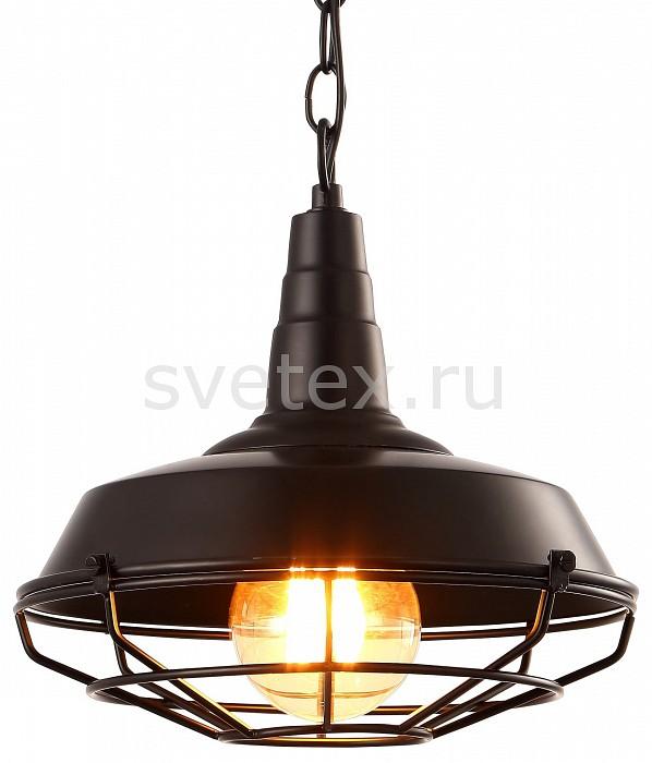 Подвесной светильник Arte LampБарные<br>Артикул - AR_A9181SP-1BK,Бренд - Arte Lamp (Италия),Коллекция - Ferrico,Гарантия, месяцы - 24,Высота, мм - 260-710,Диаметр, мм - 270,Размер упаковки, мм - 280x280x150,Тип лампы - компактная люминесцентная [КЛЛ] ИЛИнакаливания ИЛИсветодиодная [LED],Общее кол-во ламп - 1,Напряжение питания лампы, В - 220,Максимальная мощность лампы, Вт - 60,Лампы в комплекте - отсутствуют,Цвет плафонов и подвесок - черный,Тип поверхности плафонов - матовый,Материал плафонов и подвесок - металл,Цвет арматуры - черный,Тип поверхности арматуры - матовый,Материал арматуры - металл,Количество плафонов - 1,Возможность подлючения диммера - можно, если установить лампу накаливания,Тип цоколя лампы - E27,Класс электробезопасности - I,Степень пылевлагозащиты, IP - 20,Диапазон рабочих температур - комнатная температура,Дополнительные параметры - способ крепления светильника к потолку - на монтажной пластине, светильник регулируется по высоте, стиль кантри<br>