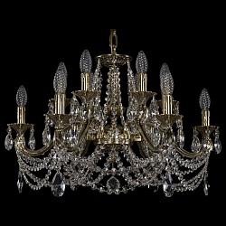 Подвесная люстра Bohemia Ivele CrystalБолее 6 ламп<br>Артикул - BI_1703_12_225_C_GB,Бренд - Bohemia Ivele Crystal (Чехия),Коллекция - 1703,Гарантия, месяцы - 24,Высота, мм - 430,Диаметр, мм - 650,Размер упаковки, мм - 640x640x340,Тип лампы - компактная люминесцентная [КЛЛ] ИЛИнакаливания ИЛИсветодиодная [LED],Общее кол-во ламп - 12,Напряжение питания лампы, В - 220,Максимальная мощность лампы, Вт - 40,Лампы в комплекте - отсутствуют,Цвет плафонов и подвесок - неокрашенный,Тип поверхности плафонов - прозрачный,Материал плафонов и подвесок - хрусталь,Цвет арматуры - золото черненое,Тип поверхности арматуры - глянцевый, рельефный,Материал арматуры - латунь,Возможность подлючения диммера - можно, если установить лампу накаливания,Форма и тип колбы - свеча ИЛИ свеча на ветру,Тип цоколя лампы - E14,Класс электробезопасности - I,Общая мощность, Вт - 480,Степень пылевлагозащиты, IP - 20,Диапазон рабочих температур - комнатная температура,Дополнительные параметры - способ крепления светильника к потолку - на крюке, указана высота светильника без подвеса<br>