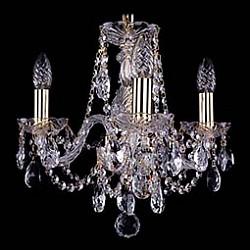 Подвесная люстра Bohemia Ivele CrystalНе более 4 ламп<br>Артикул - BI_1406_3_141_G,Бренд - Bohemia Ivele Crystal (Чехия),Коллекция - 1406,Гарантия, месяцы - 24,Высота, мм - 340,Диаметр, мм - 440,Размер упаковки, мм - 450x450x200,Тип лампы - компактная люминесцентная [КЛЛ] ИЛИнакаливания ИЛИсветодиодная [LED],Общее кол-во ламп - 3,Напряжение питания лампы, В - 220,Максимальная мощность лампы, Вт - 40,Лампы в комплекте - отсутствуют,Цвет плафонов и подвесок - неокрашенный,Тип поверхности плафонов - прозрачный,Материал плафонов и подвесок - хрусталь,Цвет арматуры - золото, неокрашенный,Тип поверхности арматуры - глянцевый, прозрачный,Материал арматуры - металл, стекло,Возможность подлючения диммера - можно, если установить лампу накаливания,Форма и тип колбы - свеча,Тип цоколя лампы - E14,Класс электробезопасности - I,Общая мощность, Вт - 120,Степень пылевлагозащиты, IP - 20,Диапазон рабочих температур - комнатная температура,Дополнительные параметры - способ крепления светильника к потолку – на крюке<br>