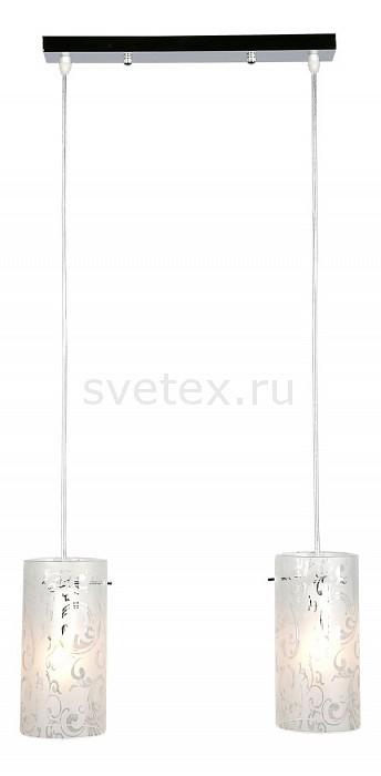 Подвесной светильник OmniluxБарные<br>Артикул - OM_OML-44506-02,Бренд - Omnilux (Италия),Коллекция - OM-445,Гарантия, месяцы - 24,Длина, мм - 400,Ширина, мм - 100,Высота, мм - 300-820,Тип лампы - компактная люминесцентная [КЛЛ] ИЛИнакаливания ИЛИсветодиодная [LED],Общее кол-во ламп - 2,Напряжение питания лампы, В - 220,Максимальная мощность лампы, Вт - 60,Лампы в комплекте - отсутствуют,Цвет плафонов и подвесок - белый с рисунком,Тип поверхности плафонов - матовый,Материал плафонов и подвесок - стекло,Цвет арматуры - хром,Тип поверхности арматуры - глянцевый,Материал арматуры - металл,Количество плафонов - 2,Возможность подлючения диммера - можно, если установить лампу накаливания,Тип цоколя лампы - E27,Класс электробезопасности - I,Общая мощность, Вт - 120,Степень пылевлагозащиты, IP - 20,Диапазон рабочих температур - комнатная температура,Дополнительные параметры - способ крепления светильника к потолку – на монтажной пластине, регулируется по высоте<br>