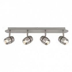 Спот MaytoniС 4 лампами<br>Артикул - MY_ECO004-04-N,Бренд - Maytoni (Германия),Коллекция - Meson,Гарантия, месяцы - 24,Тип лампы - светодиодные [LED],Общее кол-во ламп - 4,Максимальная мощность лампы, Вт - 5,Лампы в комплекте - светодиодные [LED],Цвет плафонов и подвесок - хром,Тип поверхности плафонов - глянцевый,Материал плафонов и подвесок - металл,Цвет арматуры - хром,Тип поверхности арматуры - глянцевый,Материал арматуры - металл,Возможность подлючения диммера - нельзя,Класс электробезопасности - I,Общая мощность, Вт - 20,Степень пылевлагозащиты, IP - 20,Диапазон рабочих температур - комнатная температура,Дополнительные параметры - способ крепления светильника к потолку и стене - на монтажной пластине, поворотный светильник<br>