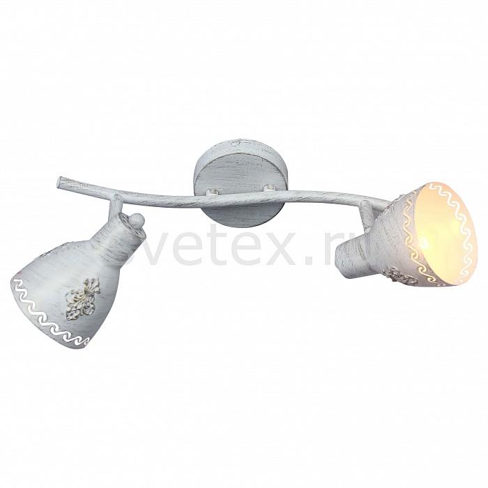 Спот FavouriteСпоты<br>Артикул - FV_1798-2U,Бренд - Favourite (Германия),Коллекция - Martos,Гарантия, месяцы - 24,Время изготовления, дней - 1,Длина, мм - 380,Ширина, мм - 160,Выступ, мм - 175,Тип лампы - компактная люминесцентная [КЛЛ] ИЛИнакаливания ИЛИсветодиодная [LED],Общее кол-во ламп - 2,Напряжение питания лампы, В - 220,Максимальная мощность лампы, Вт - 40,Лампы в комплекте - отсутствуют,Цвет плафонов и подвесок - белый с золотой патиной,Тип поверхности плафонов - матовый,Материал плафонов и подвесок - металл,Цвет арматуры - белый,Тип поверхности арматуры - матовый,Материал арматуры - металл,Количество плафонов - 2,Возможность подлючения диммера - можно, если установить лампу накаливания,Тип цоколя лампы - E14,Класс электробезопасности - I,Общая мощность, Вт - 80,Степень пылевлагозащиты, IP - 20,Диапазон рабочих температур - комнатная температура,Дополнительные параметры - поворотный светильник<br>