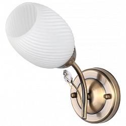 Бра TopLightС 1 лампой<br>Артикул - TPL_TL3580B-01AB,Бренд - TopLight (Россия),Коллекция - Alana,Гарантия, месяцы - 24,Высота, мм - 220,Размер упаковки, мм - 230x350x800,Тип лампы - компактная люминесцентная [КЛЛ] ИЛИнакаливания ИЛИсветодиодная [LED],Общее кол-во ламп - 1,Напряжение питания лампы, В - 220,Максимальная мощность лампы, Вт - 60,Лампы в комплекте - отсутствуют,Цвет плафонов и подвесок - белый полосатый, неокрашенный,Тип поверхности плафонов - матовый, прозрачный, рельефный,Материал плафонов и подвесок - стекло,Цвет арматуры - бронза античная,Тип поверхности арматуры - матовый,Материал арматуры - металл,Возможность подлючения диммера - можно, если установить лампу накаливания,Тип цоколя лампы - E14,Класс электробезопасности - I,Степень пылевлагозащиты, IP - 20,Диапазон рабочих температур - комнатная температура,Дополнительные параметры - способ крепления светильника к стене - на монтажной пластине, светильник предназначен для использования со скрытой проводкой<br>