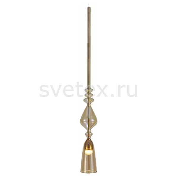 Подвесной светильник Crystal LuxБарные<br>Артикул - CU_2261_201,Бренд - Crystal Lux (Испания),Коллекция - Lux,Гарантия, месяцы - 24,Высота, мм - 780-1000,Диаметр, мм - 70,Тип лампы - светодиодная [LED],Общее кол-во ламп - 1,Напряжение питания лампы, В - 220,Максимальная мощность лампы, Вт - 3,Цвет лампы - белый,Лампы в комплекте - светодиодная [LED],Цвет плафонов и подвесок - янтарный,Тип поверхности плафонов - прозрачный,Материал плафонов и подвесок - стекло,Цвет арматуры - золото,Тип поверхности арматуры - глянцевый,Материал арматуры - металл,Количество плафонов - 1,Возможность подлючения диммера - нельзя,Цветовая температура, K - 4000 K,Световой поток, лм - 250,Экономичнее лампы накаливания - в 10 раз,Светоотдача, лм/Вт - 83,Класс электробезопасности - I,Степень пылевлагозащиты, IP - 20,Диапазон рабочих температур - комнатная температура,Дополнительные параметры - регулируется по высоте,  способ крепления светильника к потолку – на монтажной пластине<br>