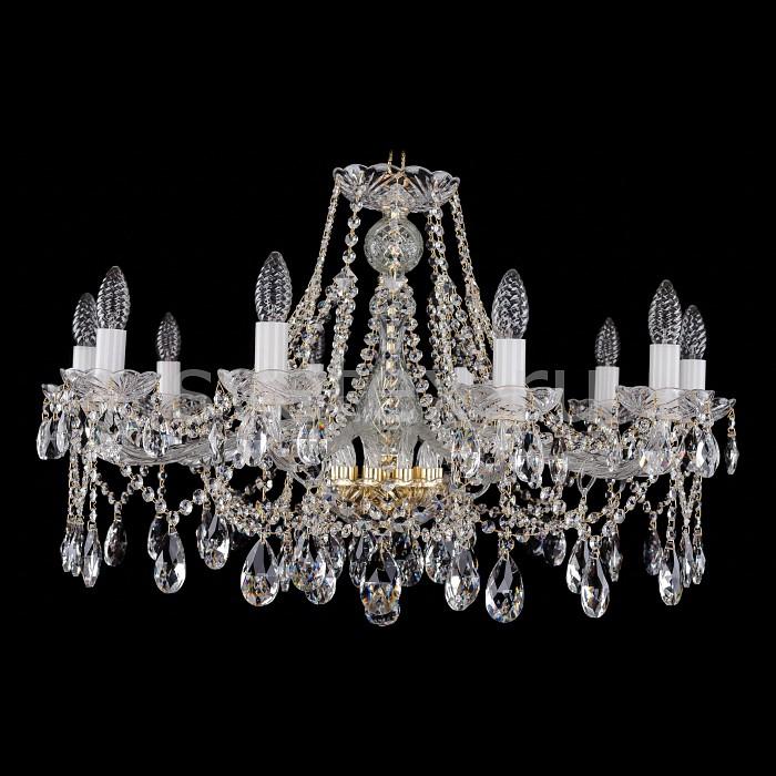 Фото Подвесная люстра Bohemia Ivele Crystal 1413 1413/10/300/G