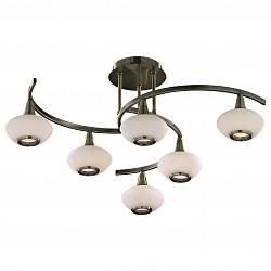 Люстра на штанге Odeon Light5 или 6 ламп<br>Артикул - OD_2054_6,Бренд - Odeon Light (Италия),Коллекция - Valle,Гарантия, месяцы - 24,Время изготовления, дней - 1,Высота, мм - 280,Диаметр, мм - 715,Тип лампы - галогеновая,Общее кол-во ламп - 6,Напряжение питания лампы, В - 220,Максимальная мощность лампы, Вт - 40,Лампы в комплекте - галогеновые G9,Цвет плафонов и подвесок - белый,Тип поверхности плафонов - матовый,Материал плафонов и подвесок - стекло,Цвет арматуры - бронза,Тип поверхности арматуры - глянцевый,Материал арматуры - металл,Возможность подлючения диммера - можно,Форма и тип колбы - пальчиковая,Тип цоколя лампы - G9,Класс электробезопасности - I,Общая мощность, Вт - 240,Степень пылевлагозащиты, IP - 20,Диапазон рабочих температур - комнатная температура<br>